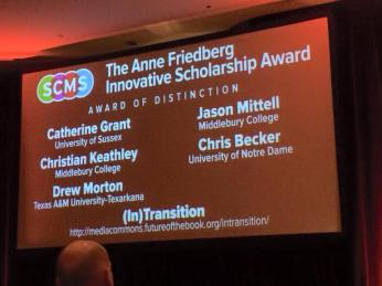 Anne Friedberg award photo